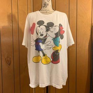 Vintage Disney Minnie and Mickey t shirt